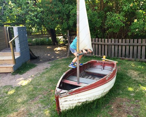 Segelbåten